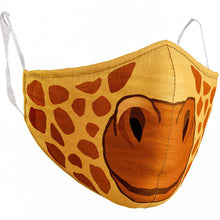 YOUTH GIRAFFE FACE MASK