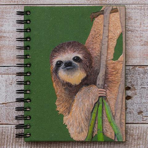 Notebook Ellie Pooh Sloth Asst