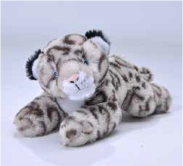 Ecokins Mini Snow Leopard 8
