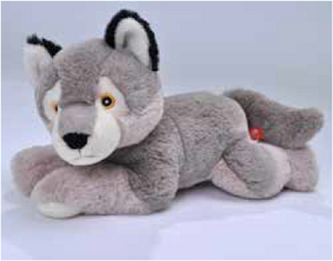 Ecokins Wolf 12""