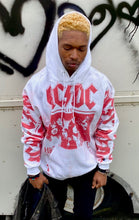 Load image into Gallery viewer, AC/DC all over print  graphic hooded sweatshirt