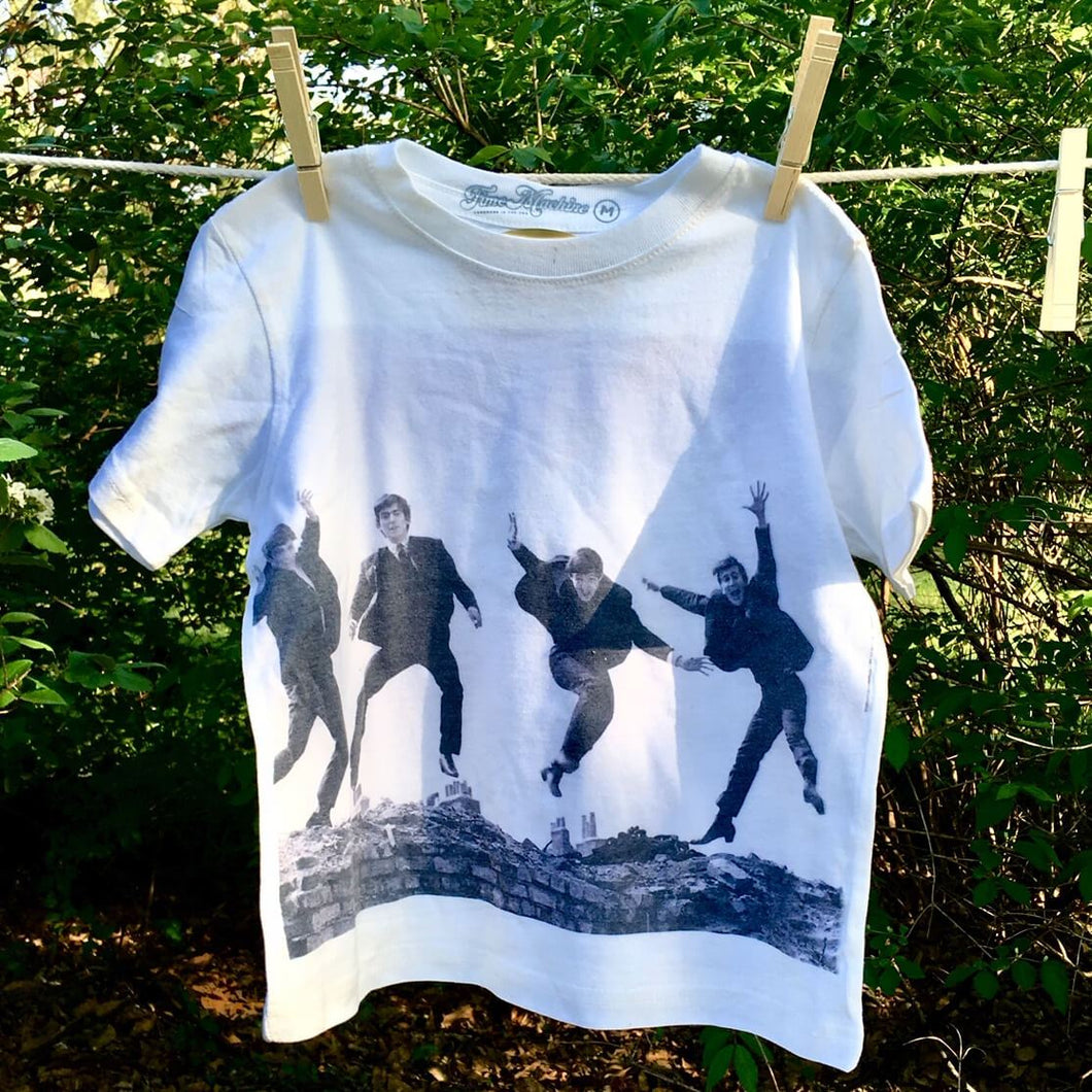 The Beatles 'Jump' graphic printed youth t-shirt