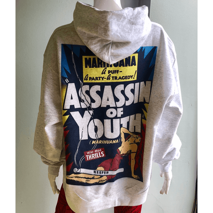 'Assassin of Youth' Champion Hoodie | Unisex S-XXL