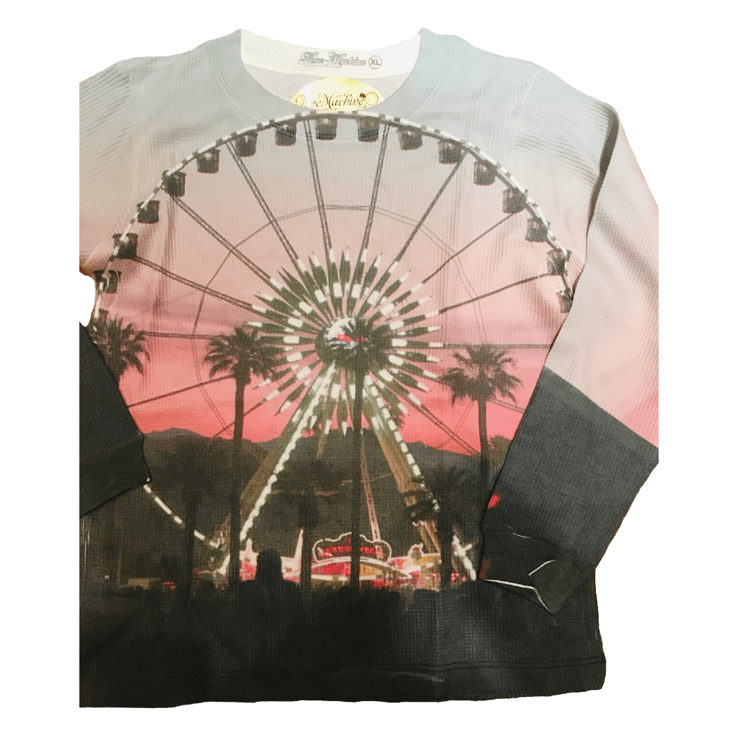 Coachella Ferris Wheel full print graphic youth thermal