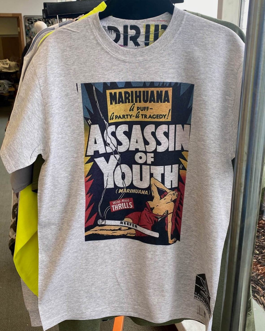 Marihuana assassin of youth vintage tshirt