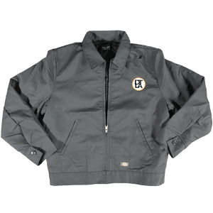 DTLA Gift Shop,Eisenhower Jacket with Embroidery Patch,Jacket