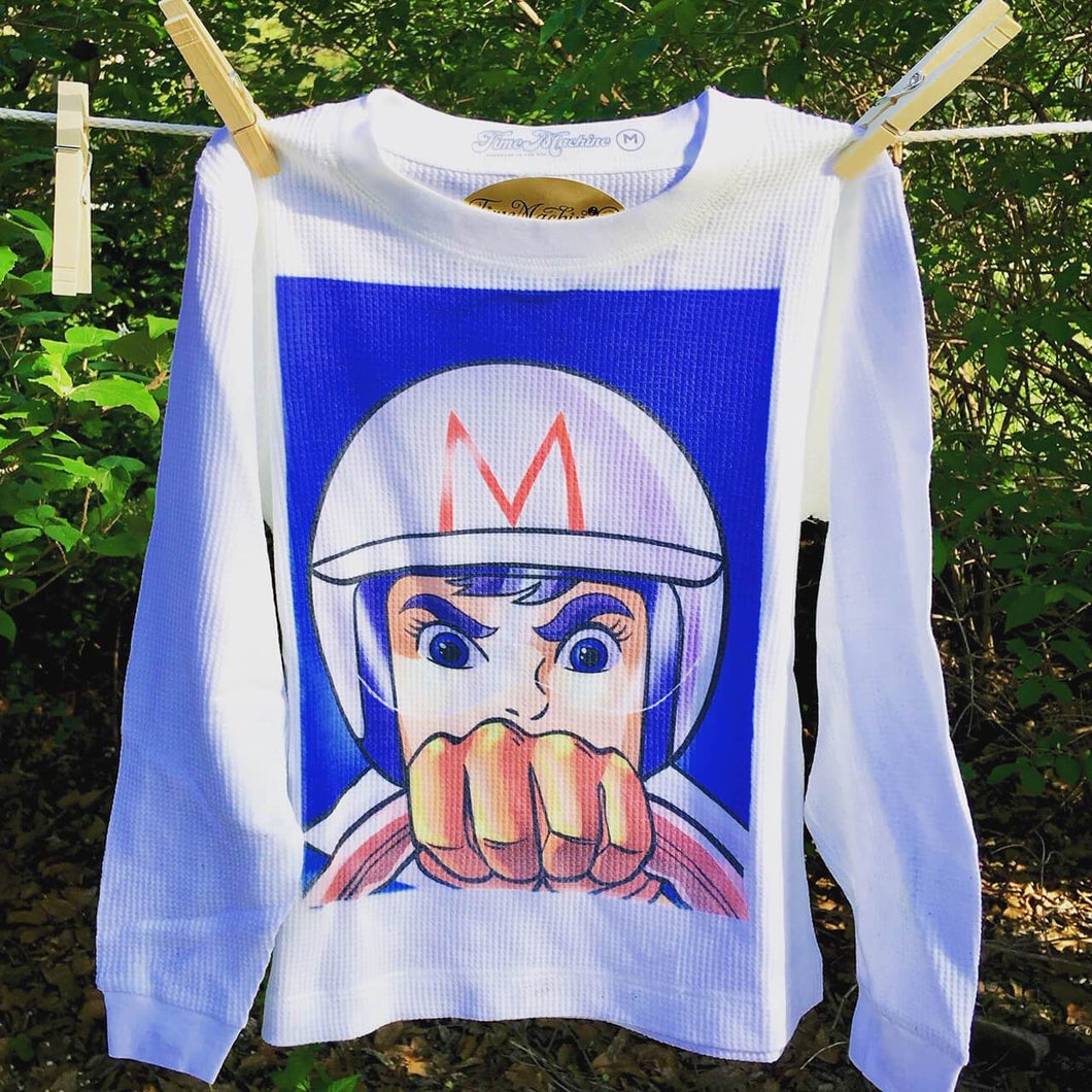 Go Speed Speed Racer graphic youth thermal