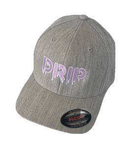 Embroidered 'DRIP' Logo Text | Flex Fit