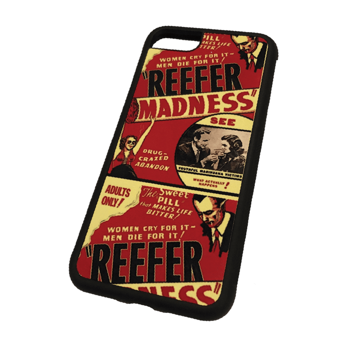 Vintage Reefer Madness graphic custom iphone 7/8 case