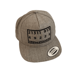 "DTLA Gift Shop,Numerical ""Back in Five Minutes"" Embroidered SnapBack,Hat"