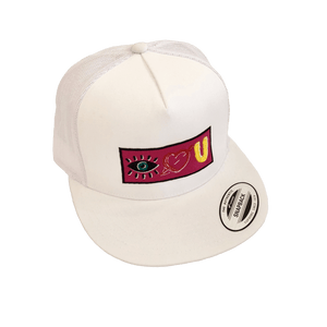 "DTLA Gift Shop,""EYE LOVE U"" 143 Clothing Embroidered Logo SnapBack,Hat"