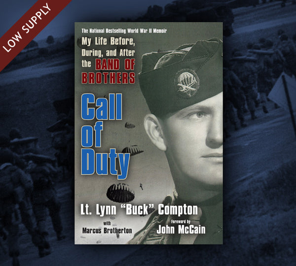 """Call of Duty"" autographed by Buck Compton"