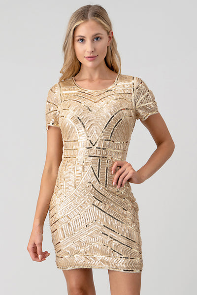 Kim Sequin Dress