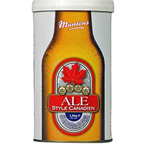 Canadian Style Ale, Muntons