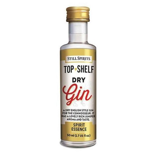 Dry Gin, Top Shelf