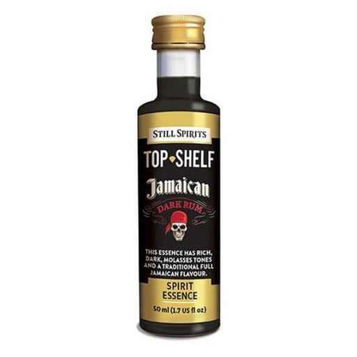 Jamaican Dark Rum, Top Shelf