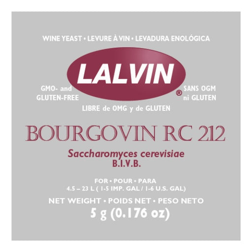 Lalvin Wine Yeast - RC 212