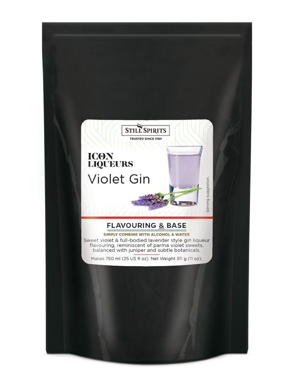 Violet Gin, Icon