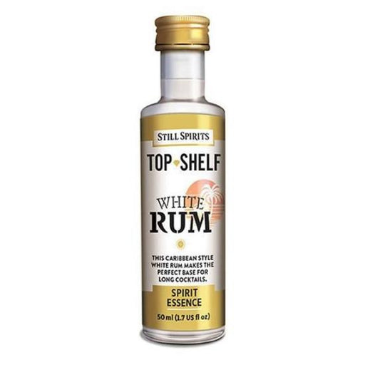 White Rum, Top Shelf