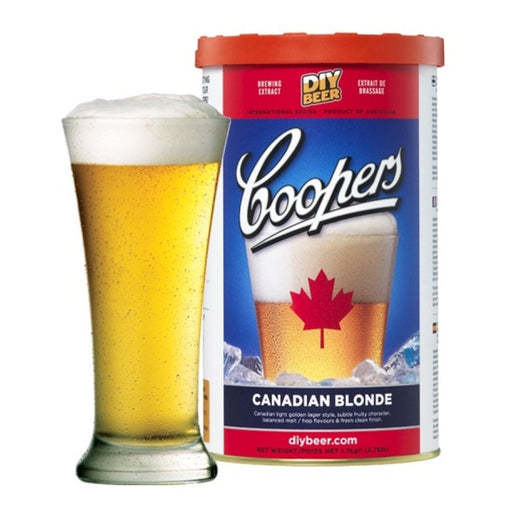 Canadian Blonde, Coopers