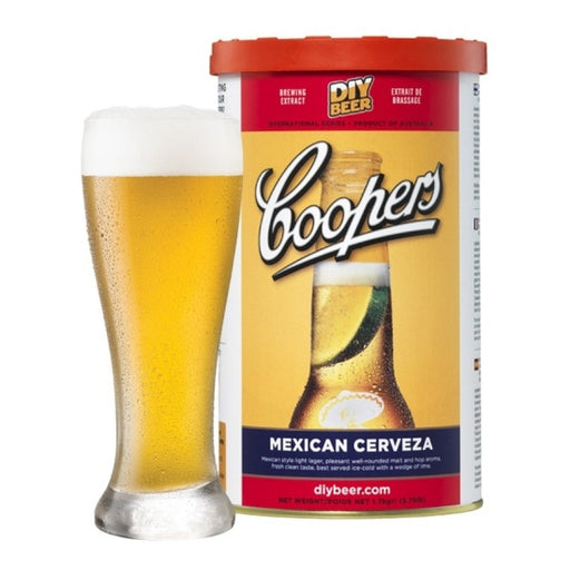 Mexican Cerveza, Coopers