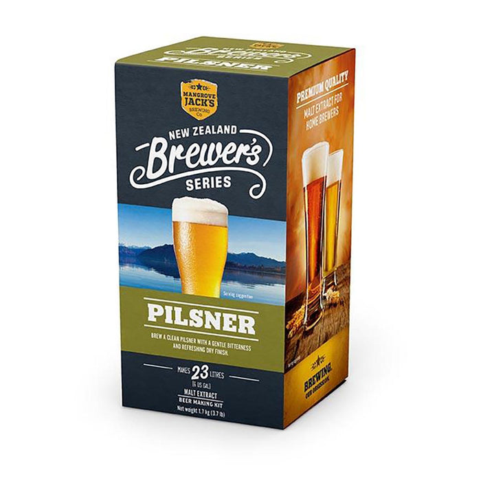 Pilsner, Mangrove Jack's New Zealand Brewers Series