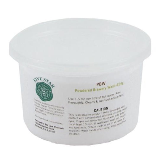 Powdered Brewery Wash, 1 lbs
