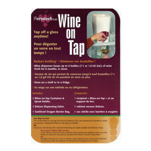 Wine on Tap Replacement Ring Set