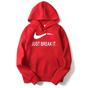 Color JUST DO IT Letter Print Tide NIKE Brand Men's Coats
