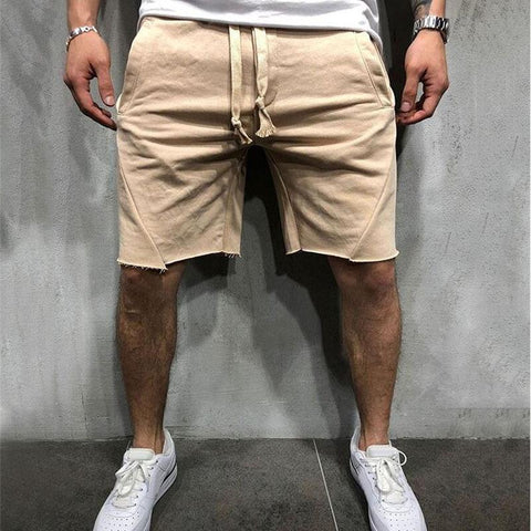New In Casual Plain Shorts