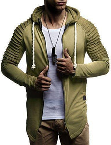 Casual Split Joint Zipper Sport Coat