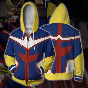 My Hero College 3D Sweater Cosplay Anime Surrounding Coat