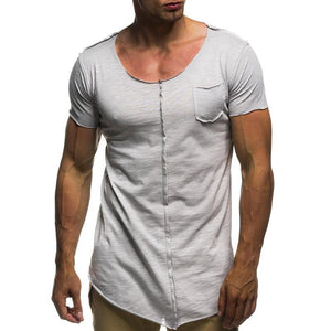 Fashion Patchwork  Casual T-Shirts