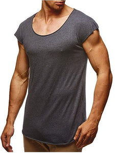 Men's Plain Casual T-Shirts