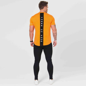 Cotton Running Training Fitness T-Shirt