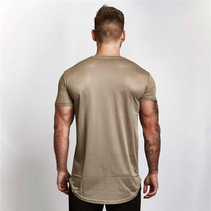 Running Speed, Dry, Tight Cotton T-Shirt