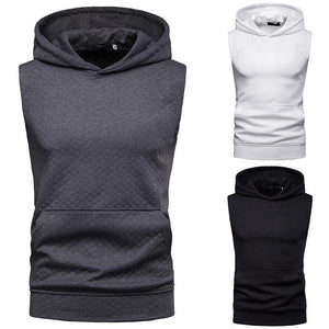 Men's Summer Mesh Hooded Vest