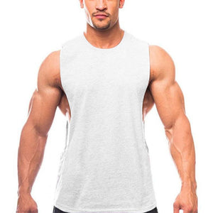 Men's Loose Round Neck Sports Vest
