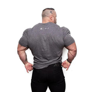 Fitness Tight Sweat-Absorbent Short-Sleeved T-Shirt