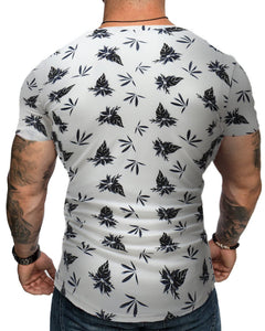 Fashion Trend Printed T-Shirt For Men