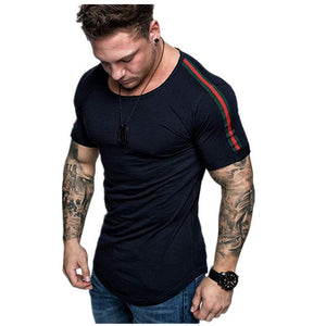 Round Neck Cotton Short Sleeve   Casual T-Shirt