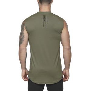 Quick-Drying Vest Fitness   Sleeveless T-Shirt