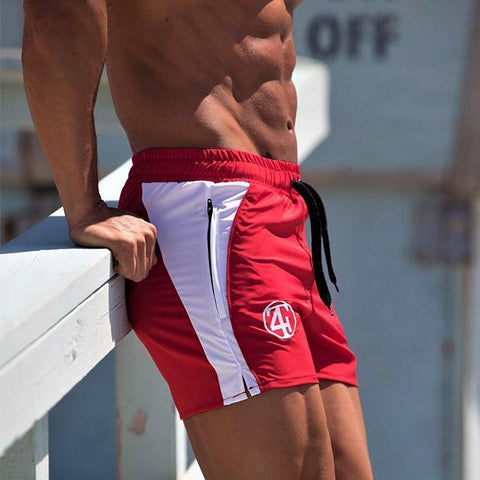 Fitness Fashion Colorblock Training Shorts