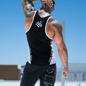 Men's Cotton Moisture Wicking Fitness Vest