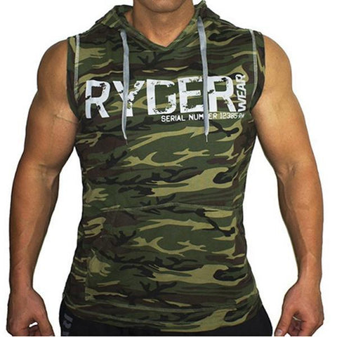 Men's Sleeveless Casual Sports Vest