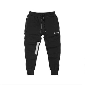 Fitness Fashion Zipper Training Jogger Pants