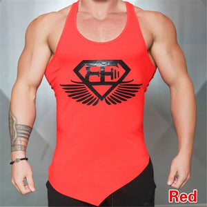 Men's Fitness Vest Sleeveless Running Sports Vest