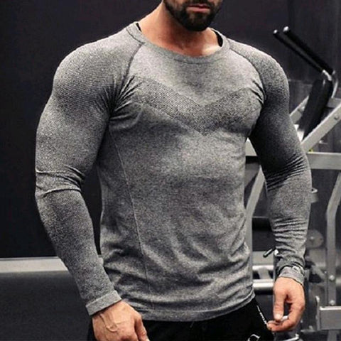 Sports Men's High Stretch Training Workout Clothes