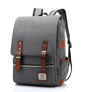 Outdoor Canvas Big Travel Backpack Bag