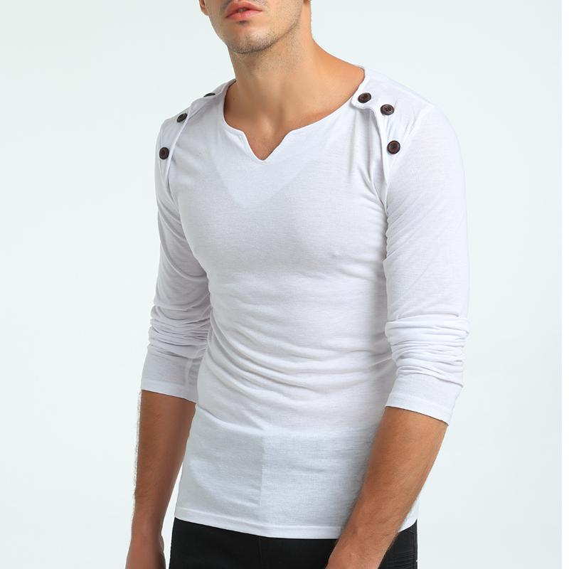 Fashion New Neck Style  Casual Men's T-Shirts